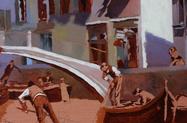 Венеция. копия картины