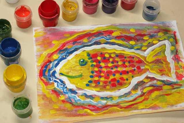 Рыба. Рисовать